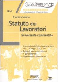 libro legge 300/70