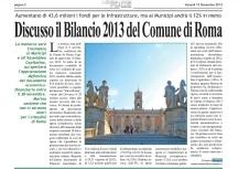 bilancio 2013 comune roma
