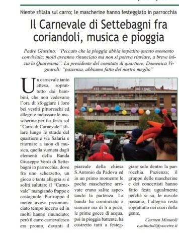 CM-LA VOCE DEL MUNICIPIO-il carnevale settebagni-7.3.14