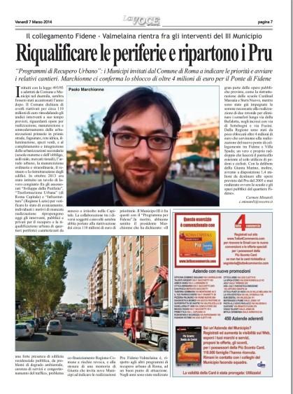 CM-LA VOCE DEL MUNICIPIO-riqualificare le periferie-PRU-7.3.14