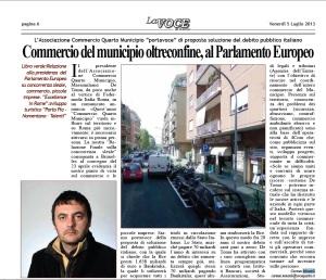 commercio municipio roma al parlamento europeo