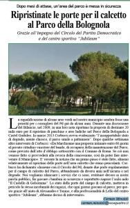 parco della bolognola- castel giubileo-roma