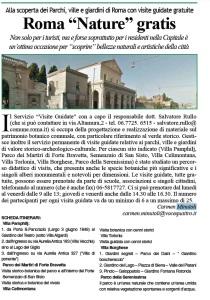 roma nature-gratis