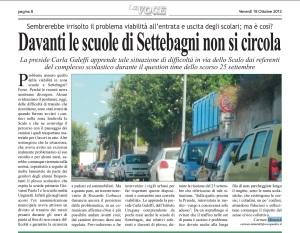 viabilità via dello scalo di settebagni roma - scuole -
