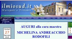 MAESTRA MICHELINA ANDREACCHIO RODOFILI-ricordo.sud.