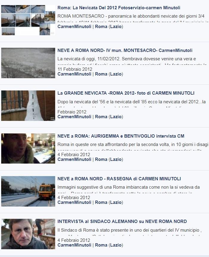 roma-la nevicata del 2012 - art. CM